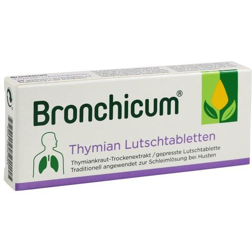 bronchicum thymian lutschtabletten 20 st husten. Black Bedroom Furniture Sets. Home Design Ideas