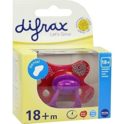 DIFRAX Schnuller dental 18+ Monate