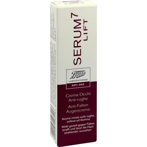 BOOTS LAB SERUM7 LIFT Anti-Falten Augencreme