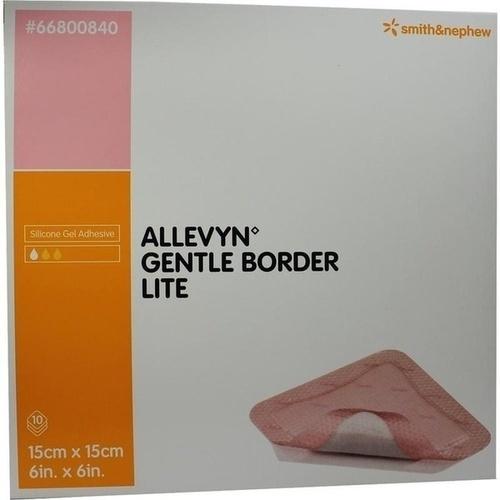 ALLEVYN Gentle Border Lite 15x15 cm Schaumverb.