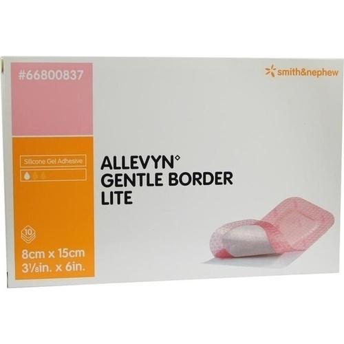ALLEVYN Gentle Border Lite 8x15 cm Schaumverb.