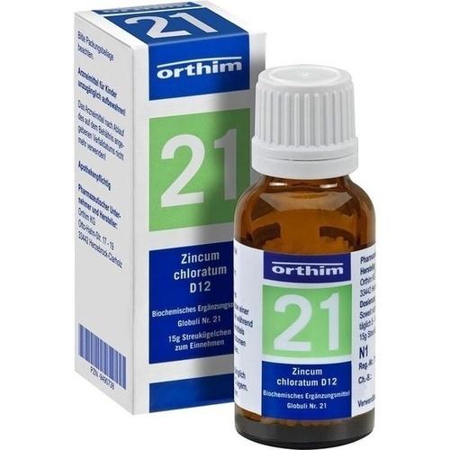 BIOCHEMIE Globuli 21 Zincum chloratum D 12