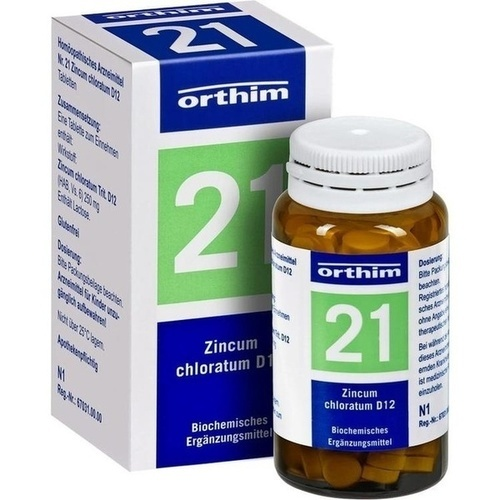 BIOCHEMIE Orthim 21 Zincum chloratum D 12 Tabl.