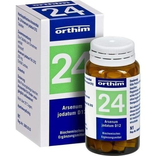 BIOCHEMIE Orthim 24 Arsenum jodatum D 12 Tabletten