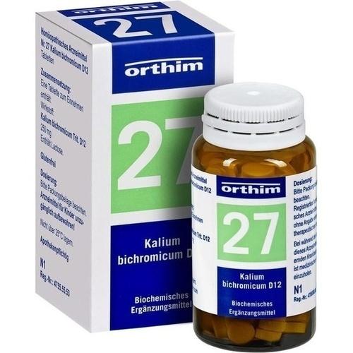 BIOCHEMIE Orthim 27 Kalium bichromicum D 12 Tabl.