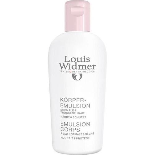 WIDMER Körperemulsion leicht parfümiert