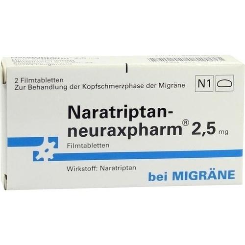 NARATRIPTAN-neuraxpharm 2,5 mg Filmtabletten 2 St.