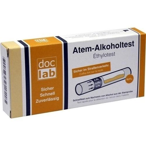 ALKOHOLTEST Atem 0,20 °/oo 0,20 mg/l 1 St