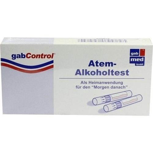 GABCONTROL HomeLAB Atem-Alkoholtest 3 St