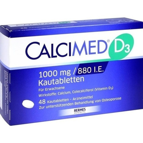 CALCIMED D3 1000 mg/880 I.E. Kautabletten