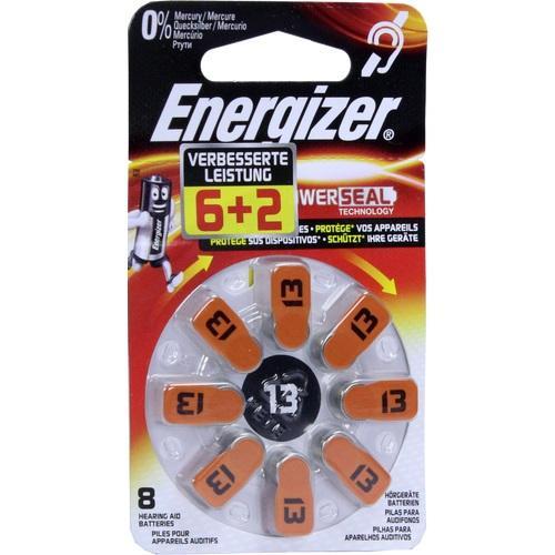 ENERGIZER Hörgerätebatterie 13