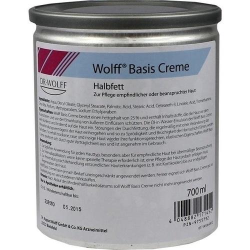 WOLFF Basiscreme halbfett