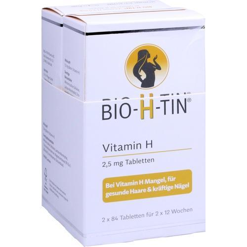 BIO-H-TIN Vitamin H 2,5 mg für 2x12 Wochen Tabl.