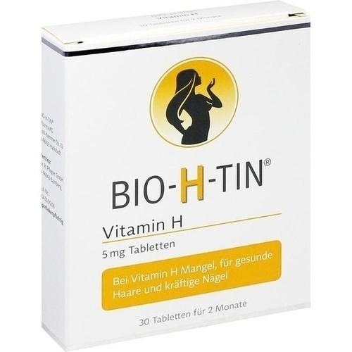 BIO-H-TIN Vitamin H 5 mg für 2 Monate Tabletten
