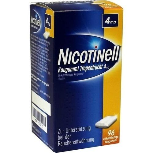 NICOTINELL Kaugummi Tropenfrucht 4 mg
