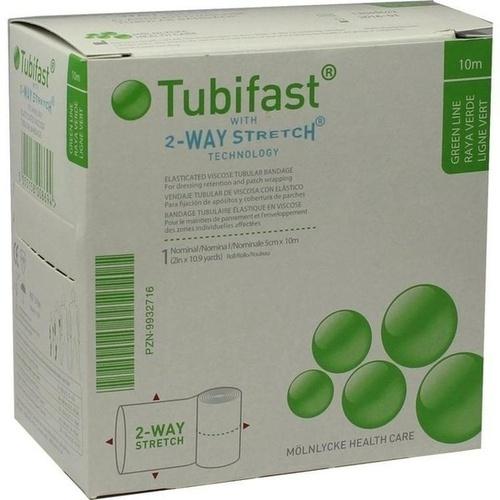 TUBIFAST 2-WAY-STRETCH 5 cmx10 m grün