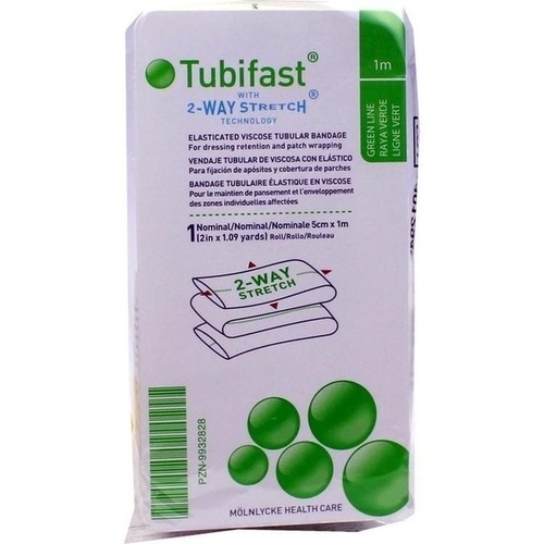 TUBIFAST 2-WAY-STRETCH 5 cmx1 m grün