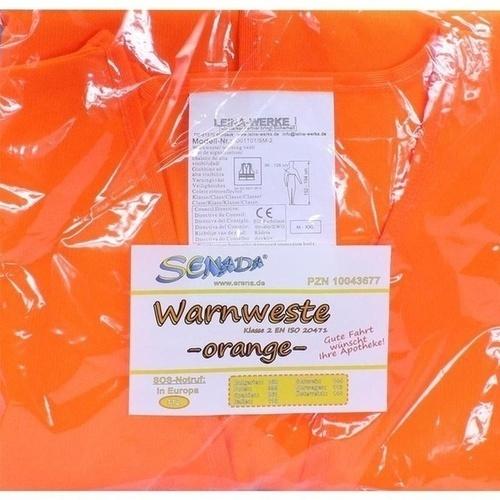SENADA Warnweste orange im Beutel