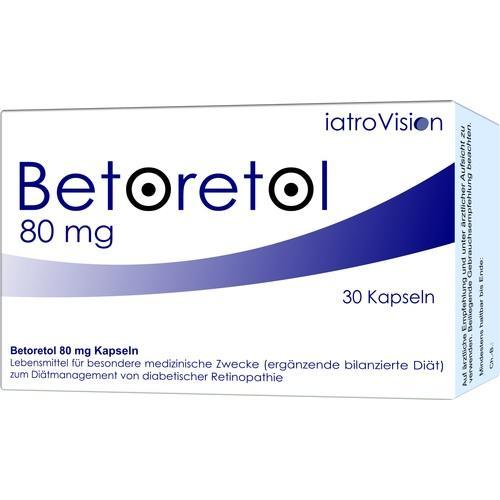 BETORETOL 80 mg Kapseln