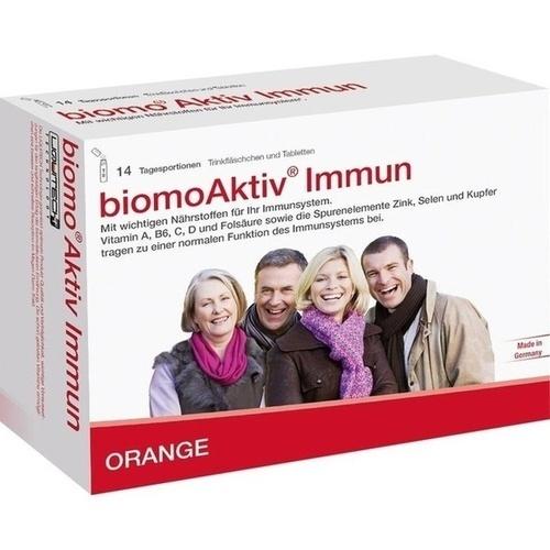 BIOMO Aktiv Immun Trinkfl.+Tab.14-Tages-Kombi