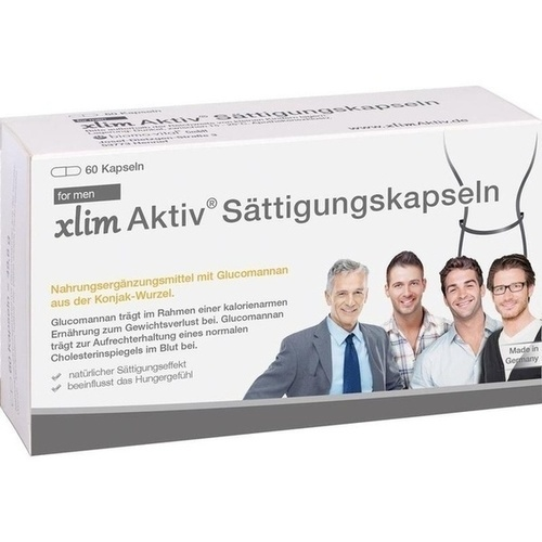 XLIM Aktiv Sättigungskapseln for men