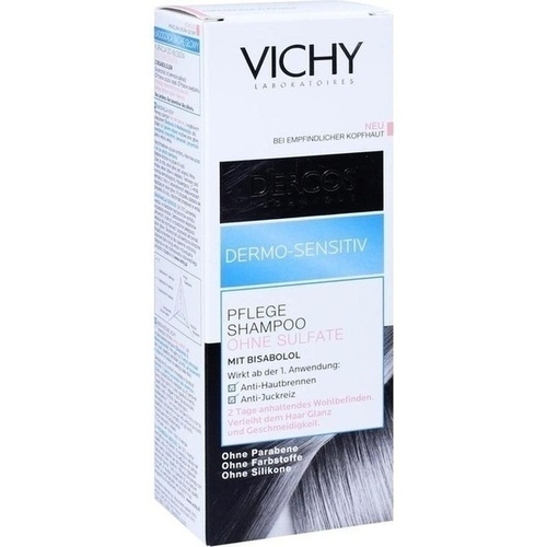 vichy dercos dermo sensitiv shampoo ohne sulfate. Black Bedroom Furniture Sets. Home Design Ideas