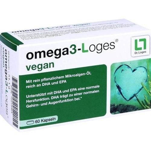 OMEGA 3-Loges vegan Kapseln 60 St