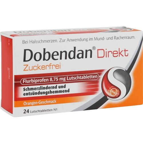 DOBENDAN Direkt zuckerfrei Flurbiprofen 8,75mg Lut