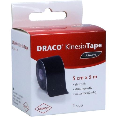 DRACO KINESIOTAPE 5 cmx5 m schwarz