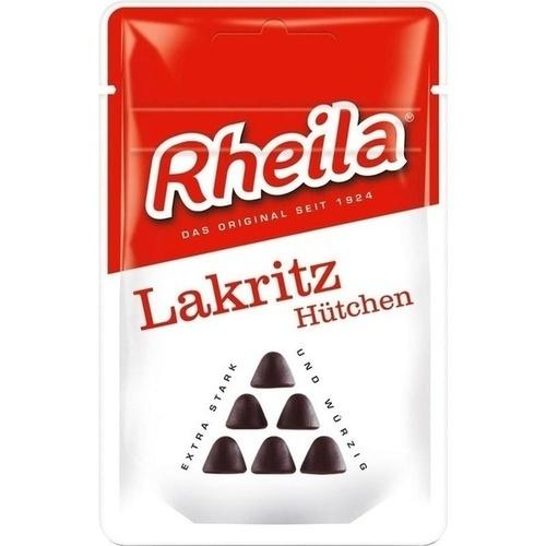 RHEILA Lakritz Hütchen mit Zucker