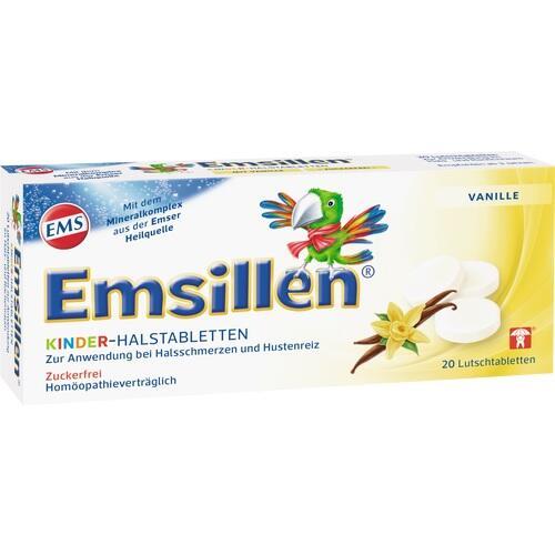 EMSILLEN Kinder Halstabletten Vanille 20 St.