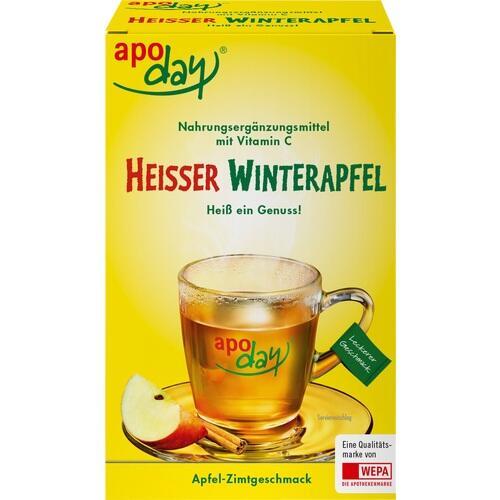 APODAY heißer Winterapfel Vitamin C Pulver