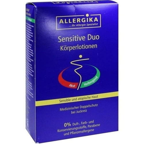 ALLERGIKA sensitive Duo Körperlotionen