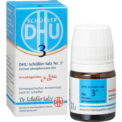 BIOCHEMIE DHU 3 Ferrum phosphor.D 12 Globuli