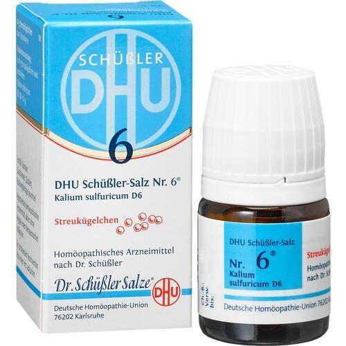 BIOCHEMIE DHU 6 Kalium sulfuricum D 6 Globuli