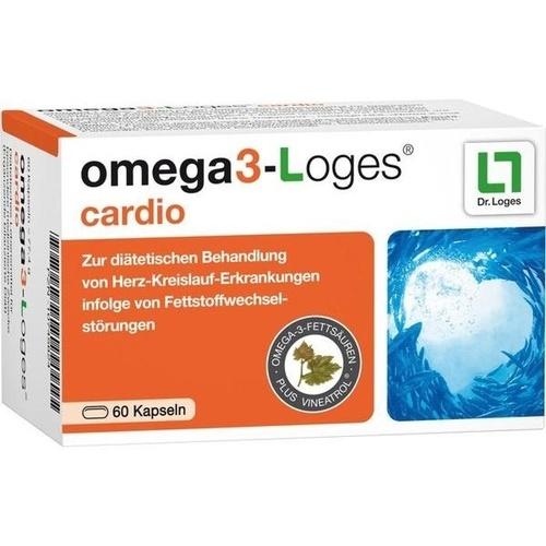 OMEGA 3-Loges cardio Kapseln 60 St