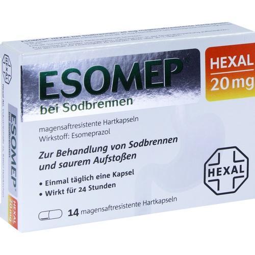 esomep hexal bei sodbrennen 20 mg magensaftr hkp. Black Bedroom Furniture Sets. Home Design Ideas