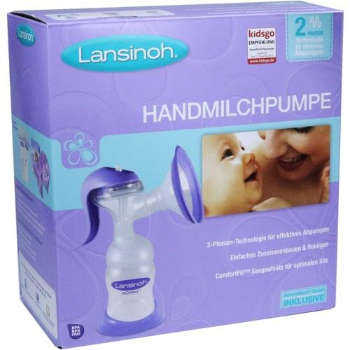LANSINOH Handmilchpumpe Weithals
