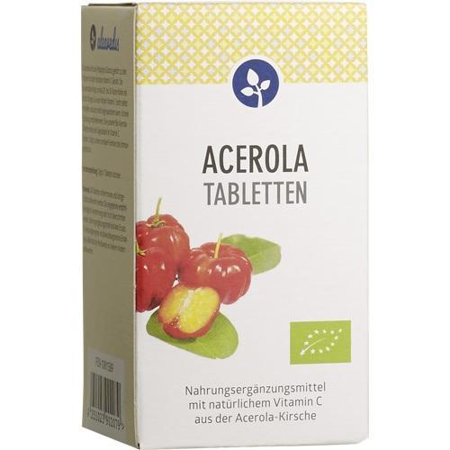 ACEROLA 17% Vitamin C Bio Lutschtabletten
