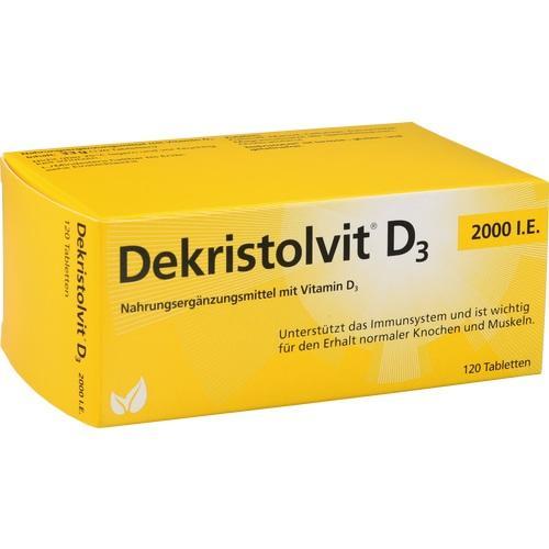 DEKRISTOLVIT D3 2. 000 I. E.  Tabletten