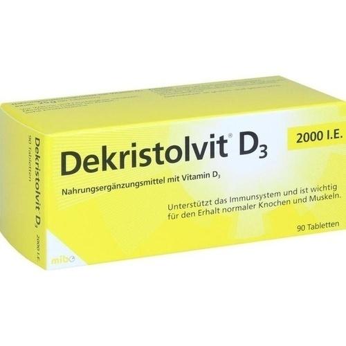 DEKRISTOLVIT D3 2.000 I.E. Tabletten