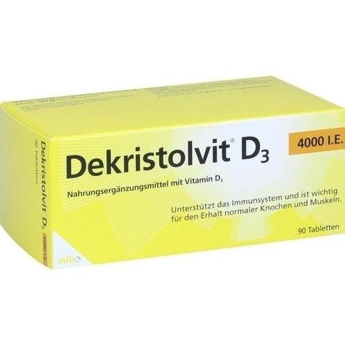 DEKRISTOLVIT D3 4. 000 I. E.  Tabletten