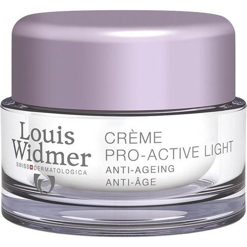 WIDMER Creme Pro-Active Light unparfümiert Nachtpflege