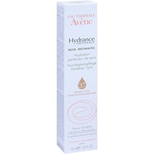 avene hydrance optimale perfekter teint riche cr 40 ml. Black Bedroom Furniture Sets. Home Design Ideas