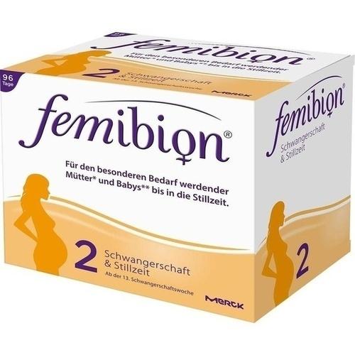 FEMIBION Schwangerschaft 2 D3+DHA+400 μg Folat