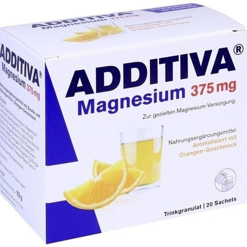 ADDITIVA Magnesium 375 mg Granulat Orange