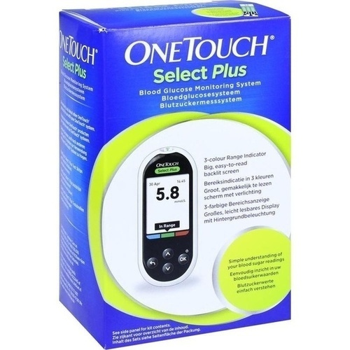 ONE TOUCH Select Plus Blutzuckermesssystem mmol/l