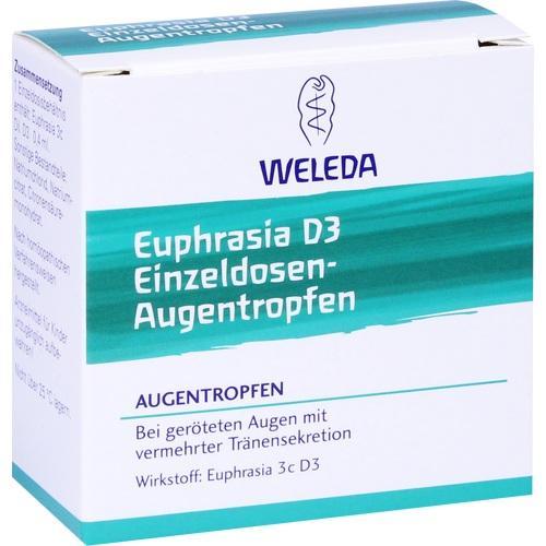 Weleda EUPHRASIA D3 Einzeldosen-Augentropfen 20x0,4