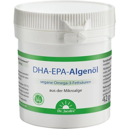 DHA-EPA-Algenöl Dr.Jacob's Kapseln