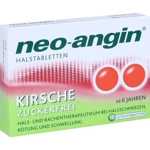 NEO ANGIN Halstabletten Kirsche